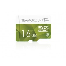 Карта памяти MicroSDHC 16GB UHS-I Team Color Green (TCUSDH16GUHS02)