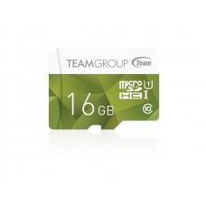 Карта памяти MicroSDHC 16GB UHS-I Team Color + Adapter SD Green (TCUSDH16GUHS43)