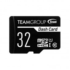 Карта памяти MicroSDHC 32GB UHS-I Class 10 Team Dash Card + Adapter SD (TDUSDH32GUHS03)