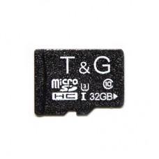 Карта памяти MicroSDHC 32GB UHS-I U3 Class 10 T&G (TG-32GBSD10U3-00)
