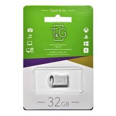 Флешка USB 2.0 32GB T&G 105 Metal Series Silver (TG105-32G)