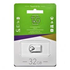 Флешка USB 2.0 32GB T&G 106 Metal Series Silver (TG106-32G)