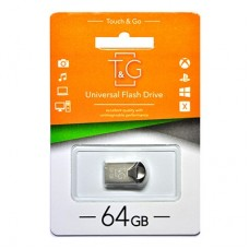 Флешка USB 2.0 64GB T&G 106 Metal Series Silver (TG106-64G)
