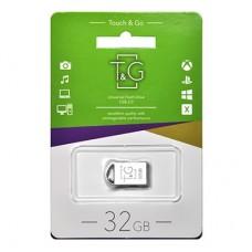 Флешка USB 2.0 32GB T&G 107 Metal Series Silver (TG107-32G)