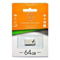 Флешка USB 2.0 64GB T&G 109 Metal Series Silver (TG109-64G)