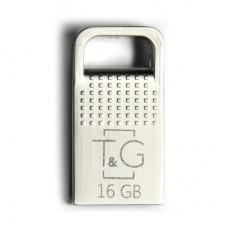 Флешка USB 2.0 16GB T&G 113 Metal Series Silver (TG113-16G)