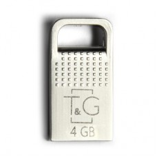 Флешка USB 2.0 4GB T&G 113 Metal Series Silver (TG113-4GG)