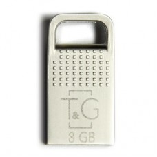 Флешка USB 2.0 8GB T&G 113 Metal Series Silver (TG113-8GG)
