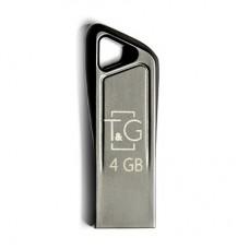 Флешка USB 2.0 4GB T&G 114 Metal Series Silver (TG114-4G)
