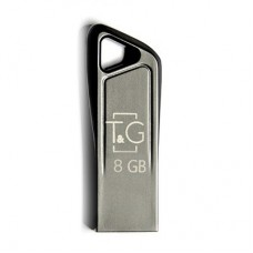 Флешка USB 2.0 8GB T&G 114 Metal Series Silver (TG114-8G)