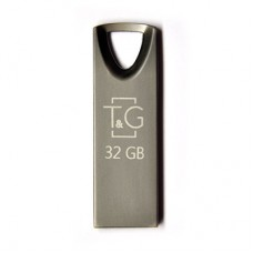 Флешка USB 2.0 32GB T&G 117 Metal Series Black (TG117BK-32G)