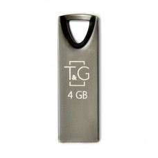 Флешка USB 2.0 4GB T&G 117 Metal Series Black (TG117BK-4G)