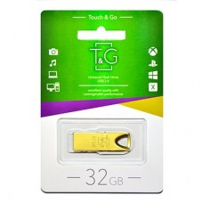 Флешка USB 2.0 32GB T&G 117 Metal Series Gold (TG117GD-32G)