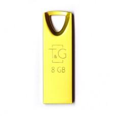 Флешка USB 2.0 8GB T&G 117 Metal Series Gold (TG117GD-8G)