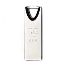 Флешка USB 2.0 8GB T&G 117 Metal Series Silver (TG117SL-8G)