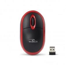 Мышь Wireless Esperanza Titanum TM116R Black/Red USB