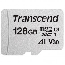 Карта памяти MicroSDXC 128GB UHS-I U3 Class 10 Transcend 300S A1 (TS128GUSD300S)