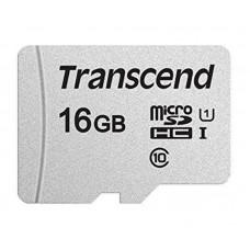 Карта памяти MicroSDHC 16GB UHS-I Class 10 Transcend 300S + Adapter SD (TS16GUSD300S-A)