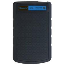 "Внешний жесткий диск HDD 2.5"" USB 1Tb Transcend StoreJet 25H3B Black/Blue (TS1TSJ25H3B)"