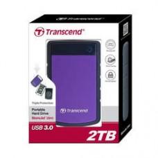 "Внешний жесткий диск HDD 2.5"" USB 3.0 2Tb Transcend StoreJet 25H3 Black/Violet (TS2TSJ25H3P)"