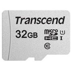 Карта памяти MicroSDHC 32GB UHS-I Class 10 Transcend 300S + Adapter SD (TS32GUSD300S-A)