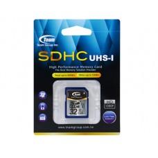 Карта памяти SDHC 32GB UHS-1 Class 10 Team (TSDHC32GUHS01)