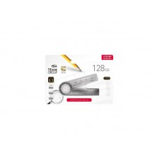 Флешка USB 3.2 128GB Team T193 Nickel Black (TT193128GF01)