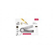 Флешка USB 3.2 64GB Team T193 Nickel Black (TT19364GF01)