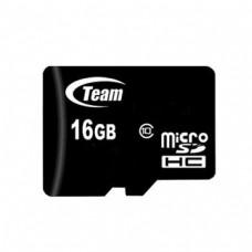 Карта памяти MicroSDHC 16GB Class 10 Team (TUSDH16GCL1002)