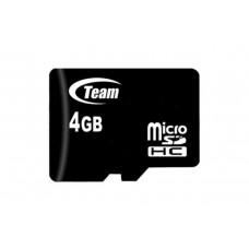Карта памяти MicroSDHC 4GB Class 10 Team (TUSDH4GCL1002)