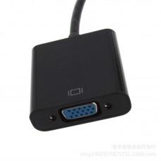 Адаптер HDMI-VGA STLab 0.15m Black