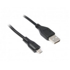 Кабель USB-MicroUSB Maxxter 1.8m Black
