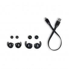 Наушники гарнитура вакуумные Bluetooth JBL Under Armour True Flash Black (UAJBLFLASHBLK)