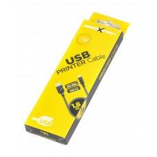 Кабель USB-Type-B 2.0 Maxxter 1.8m Black (UB-AMBM-6)