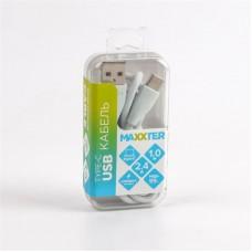 Кабель USB-Type-C Maxxter премиум 1m Grey (UB-C-USB-01MG)