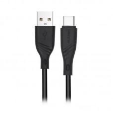 Кабель Maxxter USB-Type-C 2m Black (UB-C-USB-02-2m)