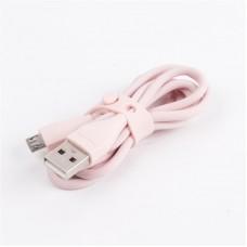 Кабель USB-MicroUSB Maxxter премиум 1m Pink (UB-M-USB-01GP)