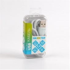 Кабель USB-MicroUSB Maxxter премиум 1m Grey (UB-M-USB-01MG)
