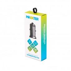 Адаптер автомобильный Maxxter 2USB 3.1A Grey (UCC-22A)