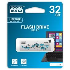 Флешка USB 32GB GoodRam UCL2 (Cl!ck) White (UCL2-0320W0R11)