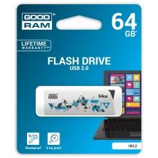Флешка USB 64GB GoodRam Cl!ck White (UCL2-0640W0R11)