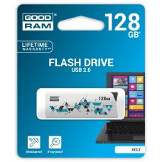 Флешка USB 128GB GoodRam UCL2 Cl!ck White (UCL2-1280W0R11)