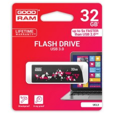 Флешка USB 3.0 32GB GoodRam UCL3 Cl!ck Black (UCL3-0320K0R11)
