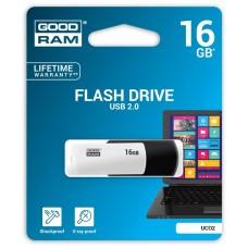 Флешка USB 16GB GoodRam UCO2 (Colour Mix) Black/White (UCO2-0160KWR11)