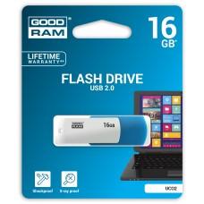 Флешка USB 16GB GoodRam UCO2 Colour Mix Blue White (UCO2-0160MXR11)