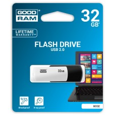 Флешка USB 32GB GoodRam UCO2 (Colour Mix) Black/White (UCO2-0320KWR11)