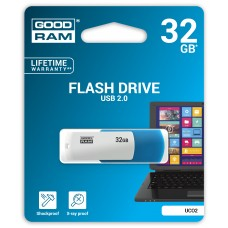 Флешка USB 32GB GoodRam UCO2 Colour Mix Blue/White (UCO2-0320MXR11)