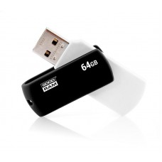 Флешка USB 64GB Goodram UCO2 Colour Mix Black/White (UCO2-0640KWR11)