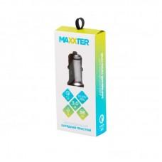 Адаптер автомобильный Maxxter 1USB 3.6A QС3.0 Grey (UCQC-21A)