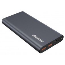 УМБ Power Bank Energizer 10000mAh 2USB Type-C 2A Grey (UE10047PQ (G))